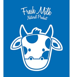 milk fresh vector image