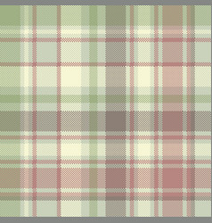 pastel color check plaid fabric seamless pattern vector image