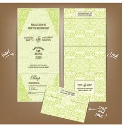 seal and send wedding invitation vector image