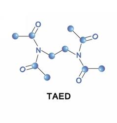 Tetraacetylethylenediamine taed molecule vector