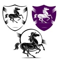 The symbol horse vector