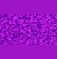 Violet abstract mosaic triangle hd background vector