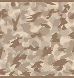 War desert safari camouflage seamless pattern vector