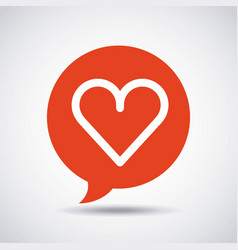 social media flat icons vector image
