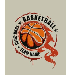 Basketball Art vector image vector image