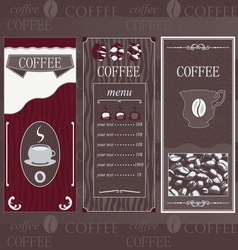 Coffee chocolate line vector image