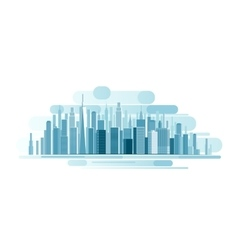 Urban Landscape background vector image vector image