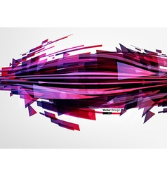 Abstract Metal Techno Background vector image
