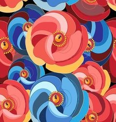 Beautiful pattern flower vector