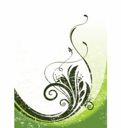 Floral illustration vector