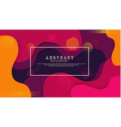 liquid gradation violet color abstract background vector image