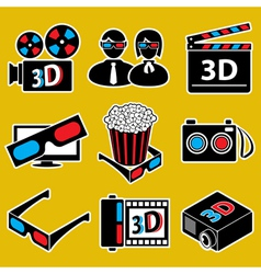 movie devices vector image