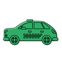 Taxi or cab icon image vector