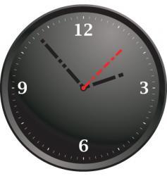 Tick tock modern vector
