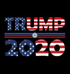 Trump t shirt design 2020 vector