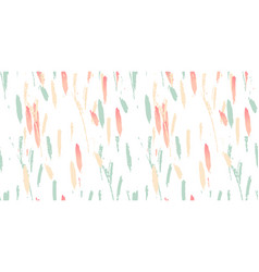 abstract brush pattern vector image
