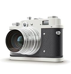 Old photo camera vector image vector image