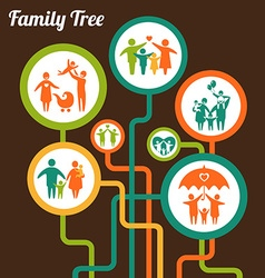 FamilyTree vector image vector image