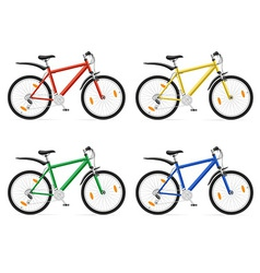 bicycle 03 vector image vector image