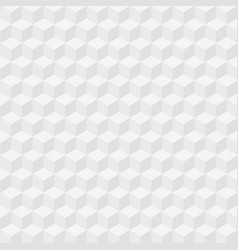 abstract gray cube background vector image