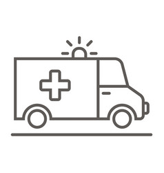 Ambulance - icon vector