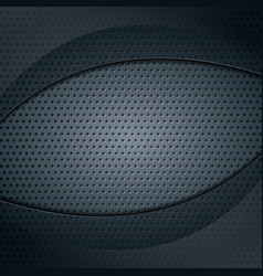 Dark metallic perforated texture with glass wave vector