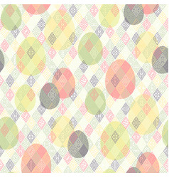 easter tribal pattern vector image