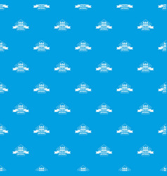 print materials pattern seamless blue vector image