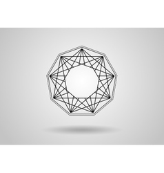 Social Network Graphic Concept Abstract background vector image