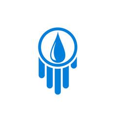 water logo concept icon vector image