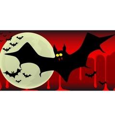 Vampire bats vector