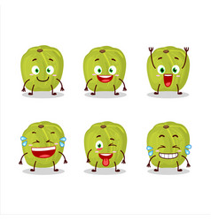 Cartoon character amla with smile expression vector