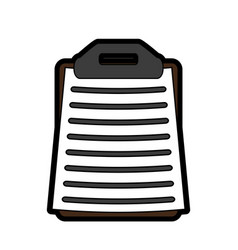 Forms list sport flat vector