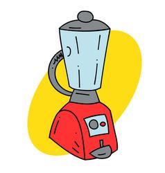 Kitchen blender vector