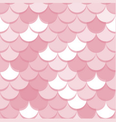 Paper scales seamless squama pink stickers vector