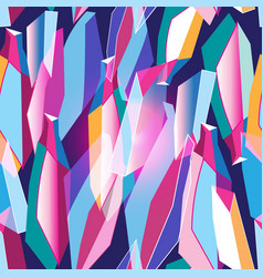 seamless abstract pattern with different shapes vector image