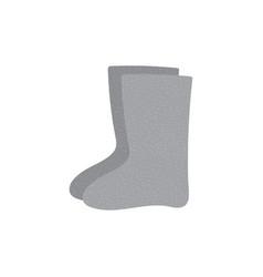 Valenki traditional russian felt boots vector