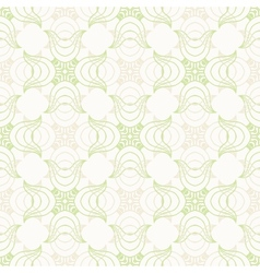 White luxurious pattern vector image