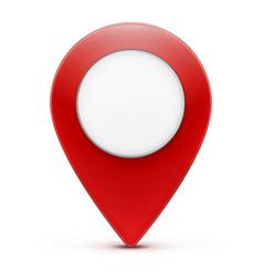 location pointer icon vector image