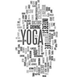 yoga for modern city life ancient practice fits vector image