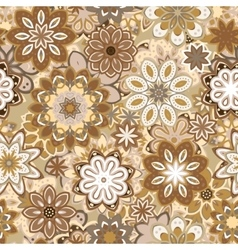 Art vintage stylization floral pattern vector