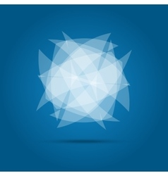 Business Abstract Circle logo vector image