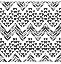 Chevron tribal seamless pattern background vector