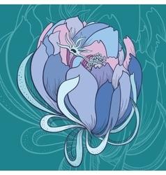 Creative Flower vector image