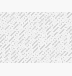 Grey tech abstract minimal pattern background vector