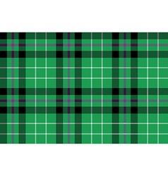 hibernian fc tartan fabric textile check pattern vector image