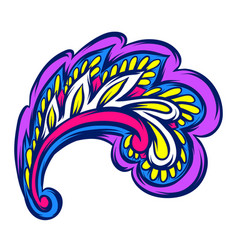 indian ethnic decorative element vector image