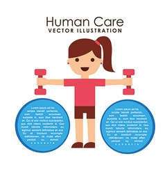 Personal care design vector