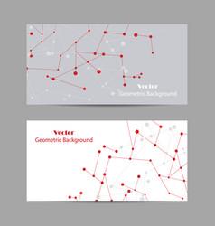 Set of horizontal banners vector
