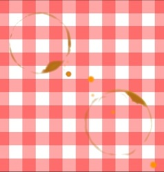 Tablecloth Ring Stains vector